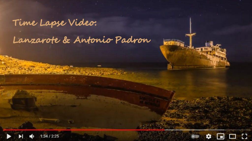 Time-Lapse Video: Lanzarote Antonio Padron